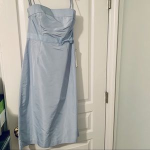 NWT 100% silk special occasion dress tall